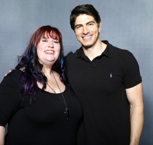 Heroes & Villains Fan Fest, San Jose 2016 The lovely Brandon Routh!