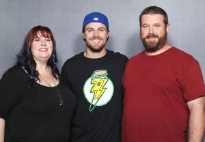 Heroes & Villains Fan Fest, San Jose 2016 Convinced my brother to join me  for the pic with Stephen Amell, a favorite here on NerdLush! *super swoon*