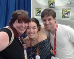 with Tara Platt & Yuri Lowenthal, SDCC 2012