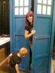 DeeDee & Oz & a TARDIS