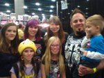 Henry family with Amber Benson