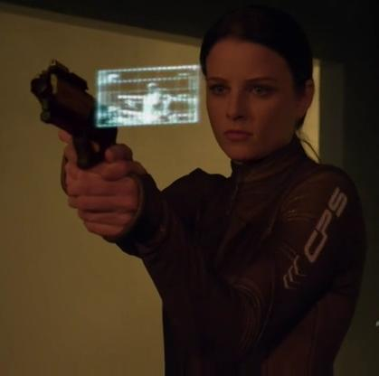 Rule of thumb: never argue with a woman wearing a futuristic catsuit she can use to taser you.