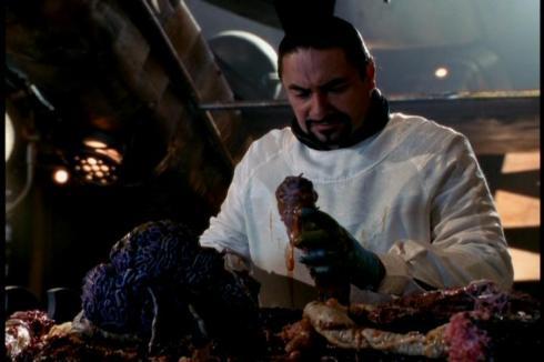 huh huh huh huh...he's touching an alien's schlong...huh huh huh huh...