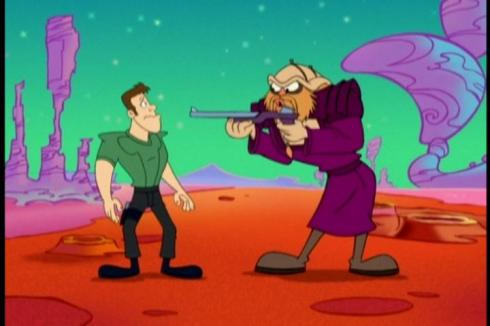 Farscape: The Animated Series follow-up?  I'm just saying its an idea that might be worth pursuing...