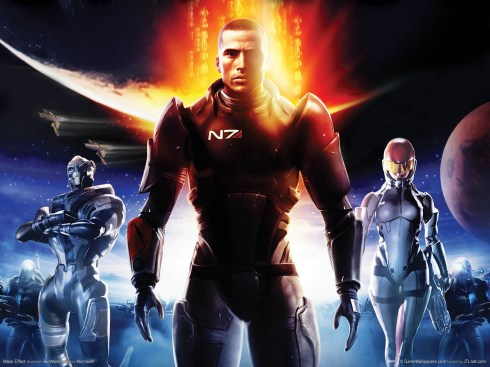 Traveling through the galaxy, fighting bad guys, and interspecies lovemaking: what's not to love about Mass Effect?