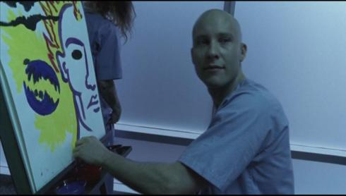We should all be thankful, baring how dark this season was, that painting was made with paint, if you catch my drift.