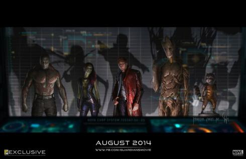 Guardians of the Galaxy: you will believe a raccoon can talk and fire a laser gun...in space.