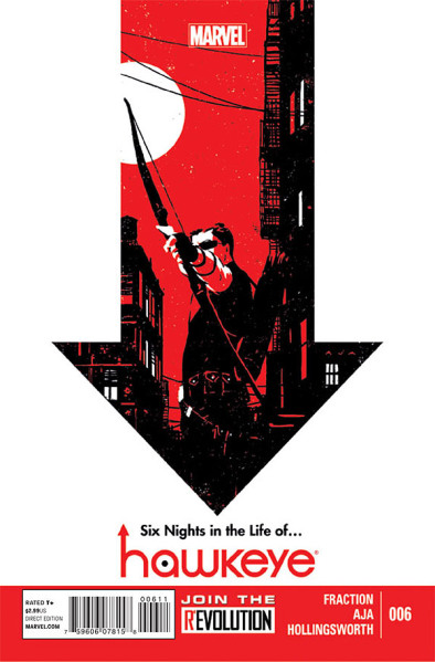 One of the best books Marvel has right now, Hawkeye, or as the cool kids call it, Hawkguy.