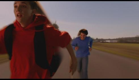 In all fairness, there's no way to look good or normal while running at super-speed.