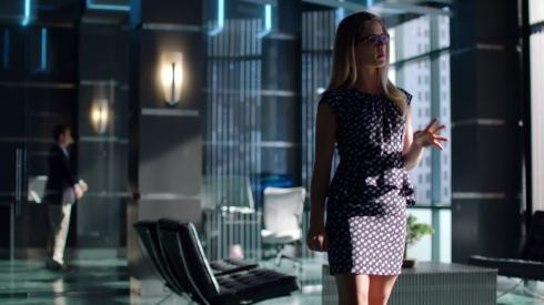 Felicity Smoak, Executive Assistant: she'll figure out some way to not make you coffee.