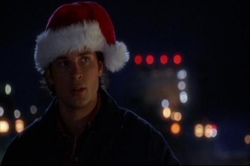 Clark Kent: Substitute Santa.