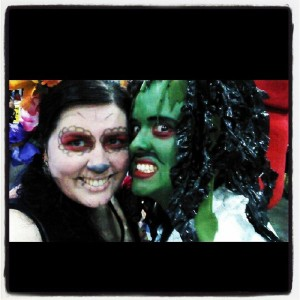 our Comikaze cosplays- Old Gregg and me.