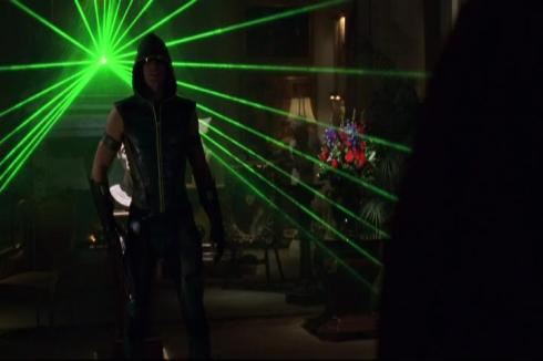 Green Arrow: he'll be DJ'ing a set at your local rave soon.