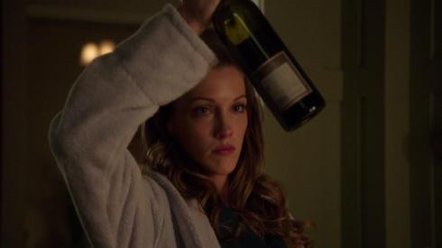 Yeah, after all the stuff that's happened this episode, I think Laurel has the right idea.