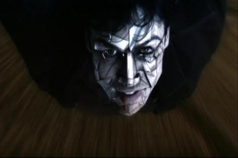 """Bizarro Clark Kent need face moisturizer!"""