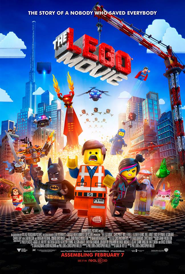 Guest Post!! ~ All Star Cast Pieces Together Lego Movie Magic | NerdLush