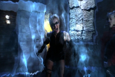 Black Canary has a scream that can shatter glass, and she keeps that breath winter clean fresh.