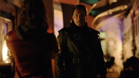 """Malcolm: """"Your dad's here.""""  Thea: """"My dad's Captain Jack Harkness?""""  Malcolm: """"No, Malcolm Merlyn, mass murderer.""""  Thea: """"Jack Harkness is a mass murderer?""""  Malcolm: """"I...well, actually yes, he is."""""""