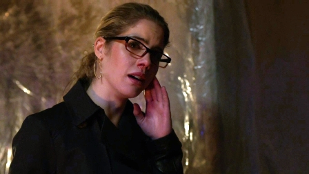 Aw, this episode is making Felicity cry.  How could you?  Sniff.  I'm not angry, I'm just frustrated with you doing that.  Sniff.