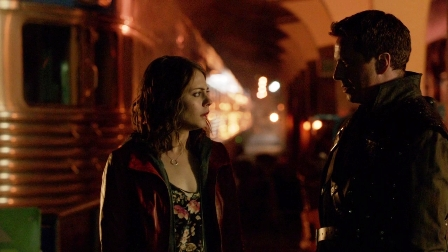"Thea: ""So wait, you're not Captain Jack Harkness, but you are a mass murderer?""  Malcolm: ""Yes!""  Thea: ""I'm not going with you anyway, unless someone else betrays my trust.""  Malcolm: ""Then the mass murderer part of me won't bother you anymore?  Really?  That's all it takes?"""