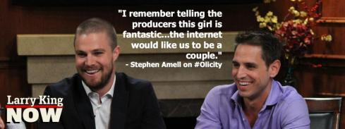 Olicity- Amell
