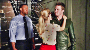 olicity- diggle 2