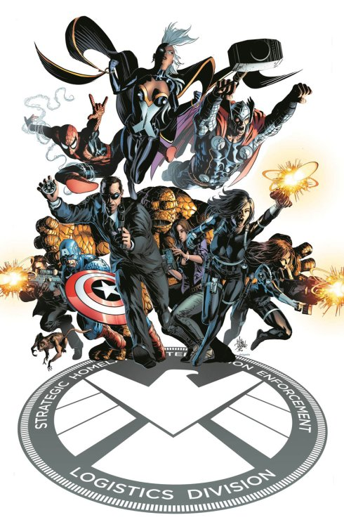 There.  Happy now that Agents of SHIELD didn't have enough superheroes in it?