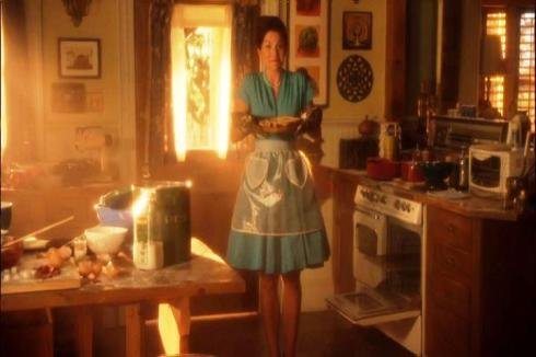 """""""Hey Clark!  I just got back from the """"Fans of Betty from 'Mad Men'"""" convention, and I just felt like cooking to hide my insecurities!"""""""