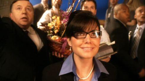Lois Lane as Sarah Palin.