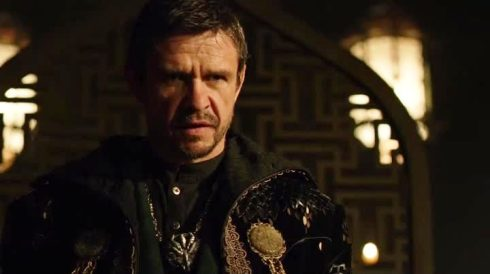 Filling in for Liam Nesson in the role of Ra's al Ghul: Papa Johns (no, not the pizza guy, the guy from the Riddick movie)