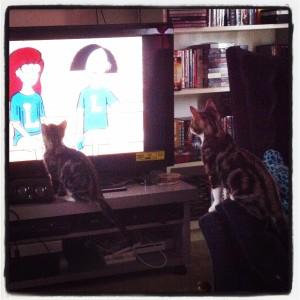 watching Daria