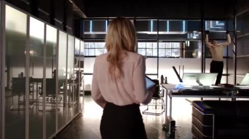 Ray Palmer is taking Ollie's company, his girl, and now his salmon ladder?  This well-chiseled madman must be stopped!
