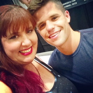 adorably adorable Charlie Carver, of Teen Wolf and Desperate Housewives, Wizard World Sacramento June 20, 2015