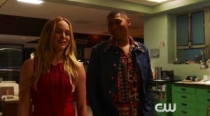 Sara Lance: hot and able to beat you down while stoned.